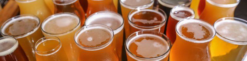 Beer, beer glasses
