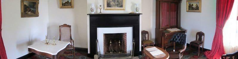home furnishings furniture living room McLean House Parlor Appomatox